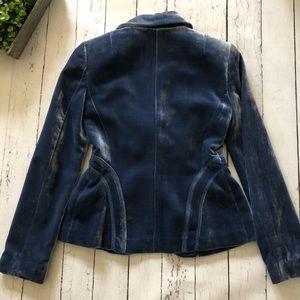Laundry By Shelli Segal Jackets & Coats - Laundry by Shelli Segal Crushed Velvet Blazer